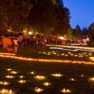 Lichterfest im Kurpark Bad Wildungen