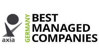 Bild: Logo des Axia Best Managed Companies Award