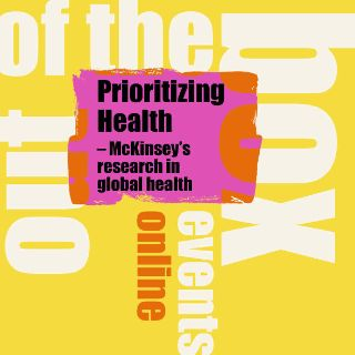 Out of the box-Veranstaltung am ACH: Prioritizing health Palast