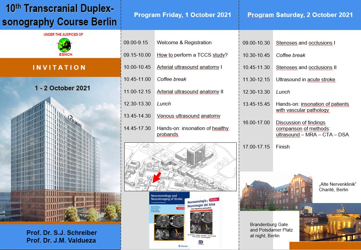 Flyer screenshot 10th TCCS course Berlin