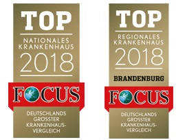 Focus Siegel 2018 Top Nationales & Regionales Krankenhaus