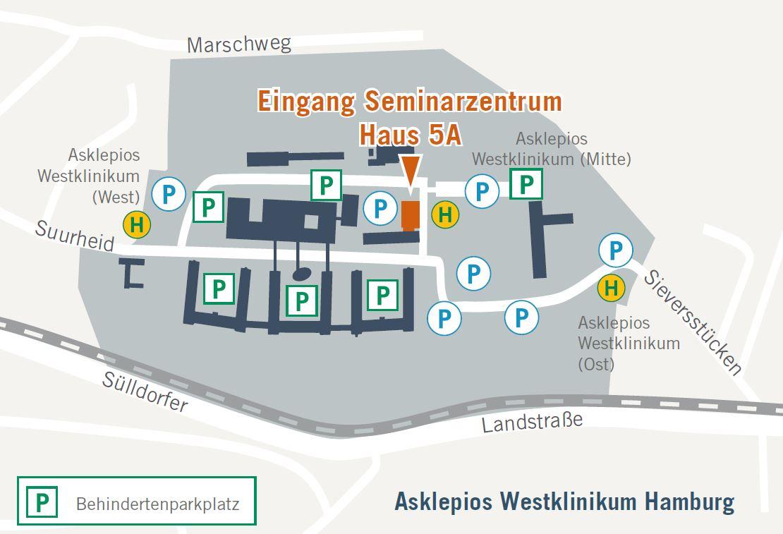 Lageplan Hamburg
