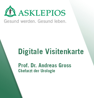 Digitale Visitenkarte Herr Dr. Gross