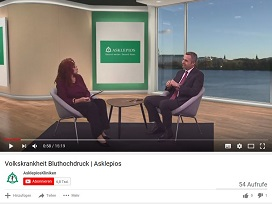 Video-Interview Volkskrankheit Bluthochdruck