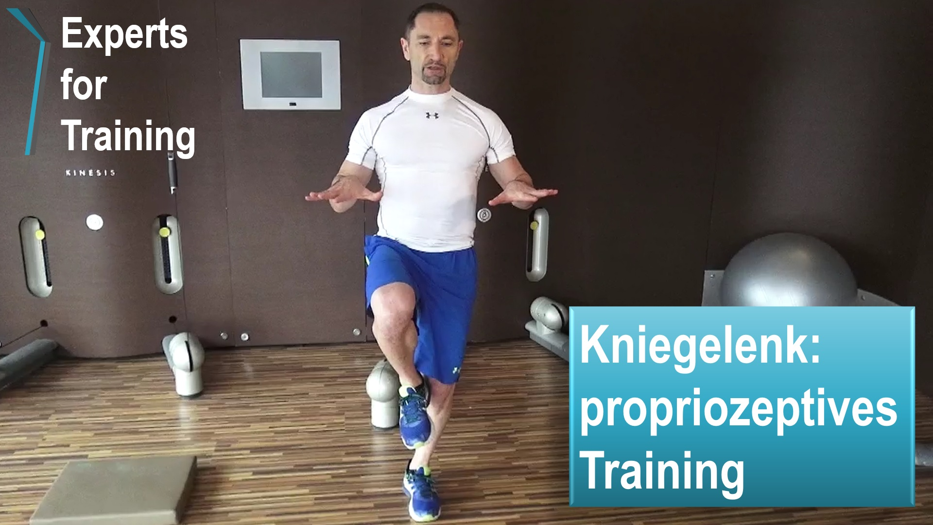 knie-propriozeptives-training