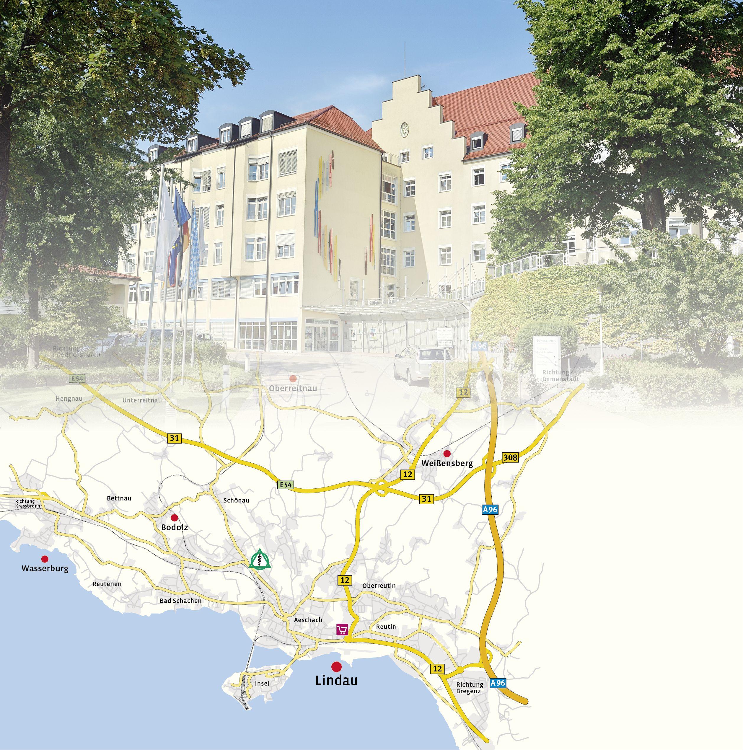 Anreise Zur Insel Wangerooge Mit Dem Auto Pkw: Asklepios Klinik Lindau