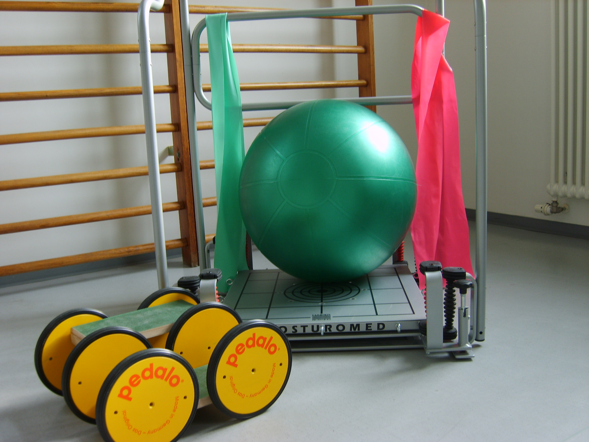 Physiotherapie Ball & andere Geräte