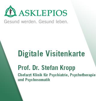 Digitale Visitenkarte Prof Dr Med Stefan Kropp
